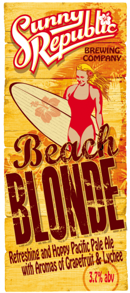 Sunny Republic's Beach Blonde Pacific Pale Ale