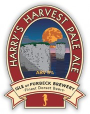 Isle of Purbeck's Harry's Harvest Pale Ale