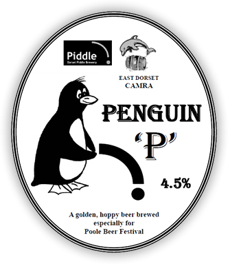 Dorset Piddle's Penguin 'P'