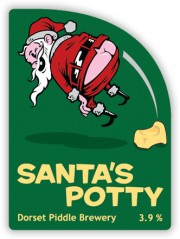 Dorset Piddle's Santa's Potty
